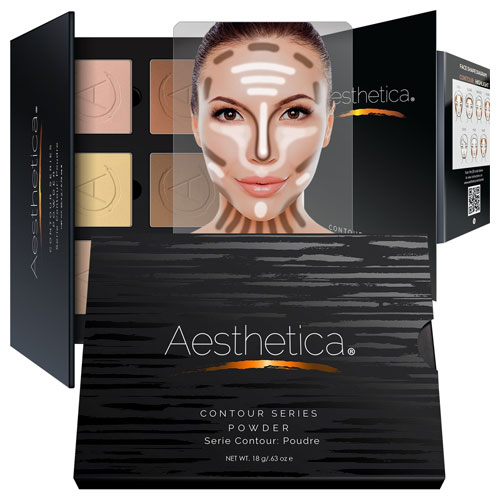 1. Aesthetica Contour and Highlighting Powder