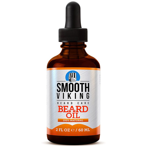 4. Smooth Viking Beard Oil