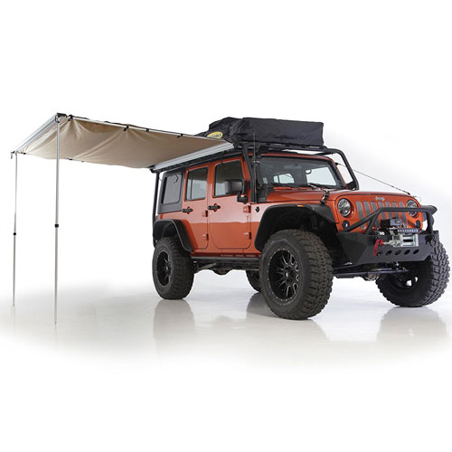 Smittybilt 2787 Coyote Tan Tent Awning