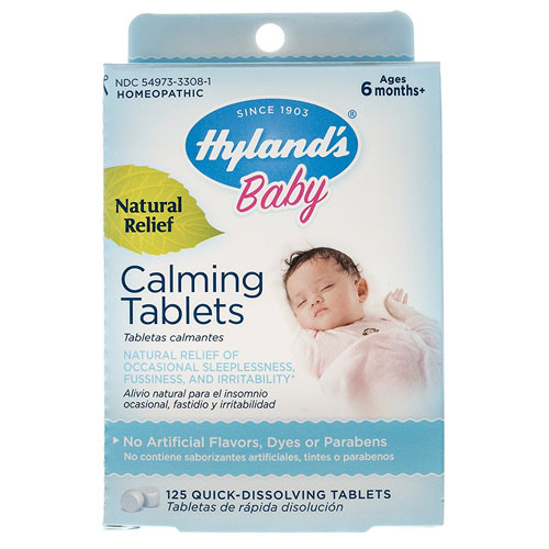 4.Hyland's Baby Calming Tablets