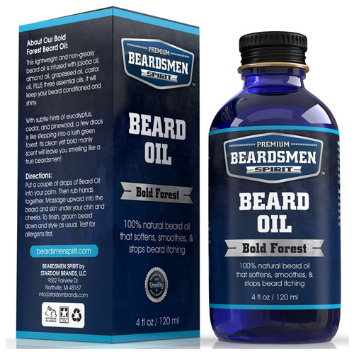 6. Premium Beard Oil and Conditioner