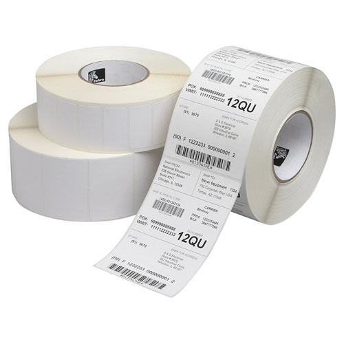 8. Zebra Technologies Direct Thermal Label