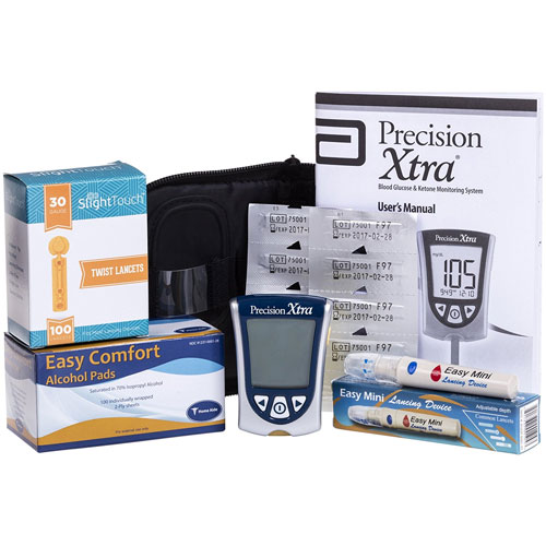 4. Precision Ketone Diabetes Testing Kit