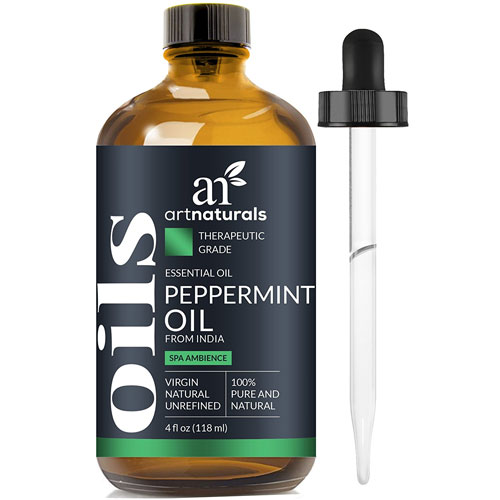 5. Art Naturals Peppermint Oil 100% Pure and Natural Premium Therapeutic Grade Mentha Peperita