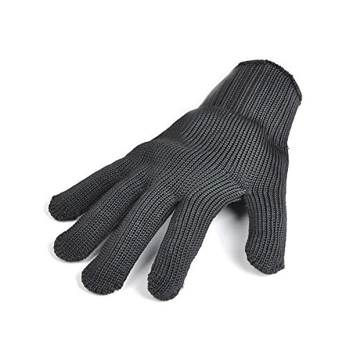 10. Stainless Steel Wire Mesh Cut Resistant Mechanic Gloves