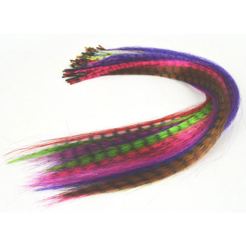 9. Sunwell Feather Hair Extension Kit