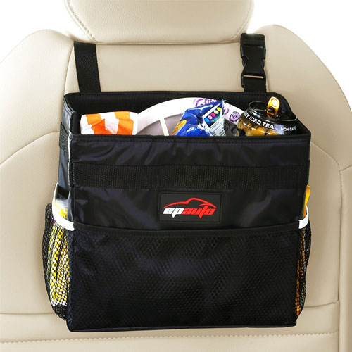 EPAuto Waterproof Car Trash Bin Leakproof Auto Litter Bag