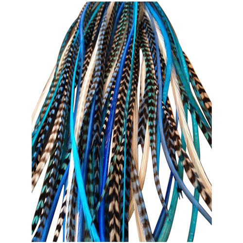 8. Feather Hair Extensions