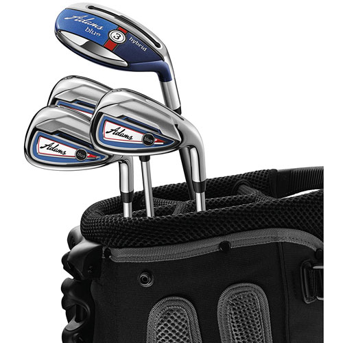 6. Adams Golf- Blue Combo Irons