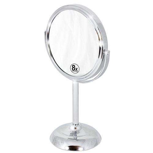 5. Decobros 6-inch Tabletop Two-Sided Swivel Vanity Mirror