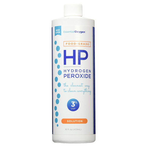 2. Essential Oxygen Plus Hydrogen Peroxide 3% Food Grade, 16 Ounce