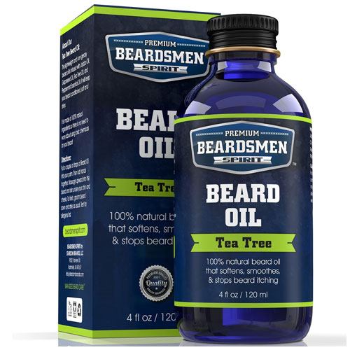 3. Beard Oil - Tea Tree Scent
