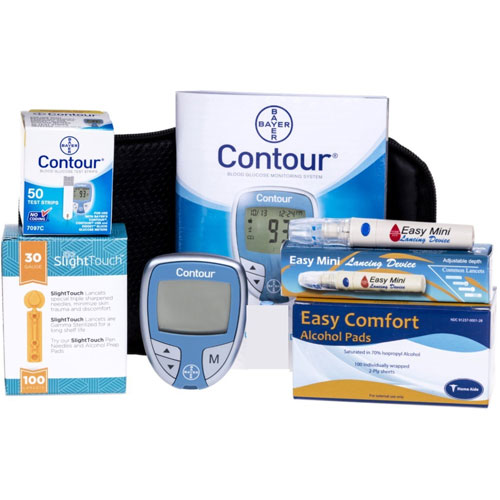1. Bayer Contour Meter, Much More