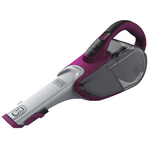 Black & Decker HHVJ320BMFS27 2.0Ah Cordless Lithium Hand Vacuum with Scent, Eggplant