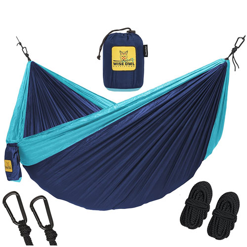 10. The ultimate single and double camping hammock