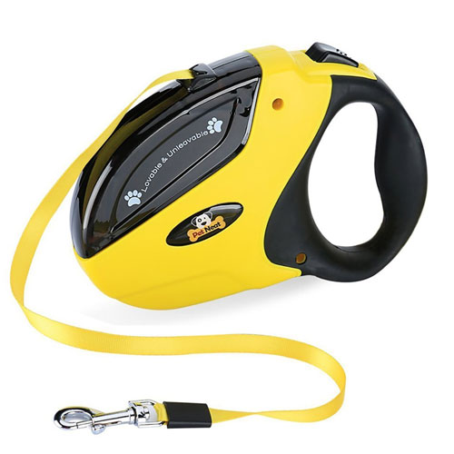 Retractable Dog Leash with Break and Lock Button