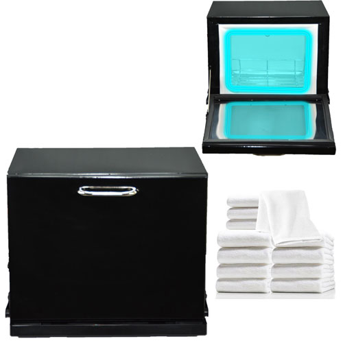 5. LCL 2-in-1 Towel Warmer & Ultraviolet Sterilizer