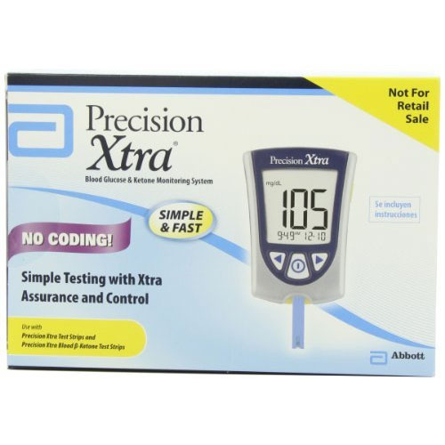 9. Precision Extra NFR Blood Glucose Monitoring System