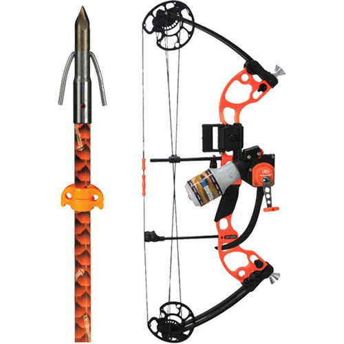 AMS Bowfishing 2018 Juice Bowfishing Kit With Muck Buster