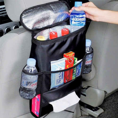 AICase Car Seat Back Organizer, Waterproof Car Trash Bin