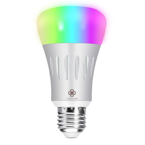 Smart LED Light Bulb,LUCKY CLOVER Wifi Light A19 Bulbs