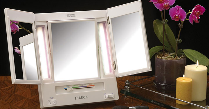 Top 10 Best Lighted Makeup Mirror Reviews