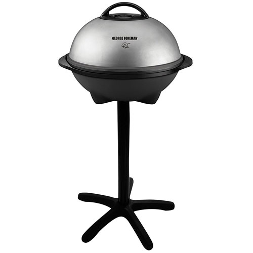 The George Foreman GGR50B Indoor/Outdoor Grill