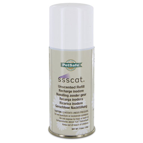 Pet Safe Ssscat Unscented Spray Refill Can