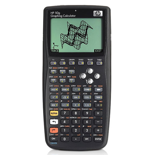 Hp 50 G Graphing Calculator