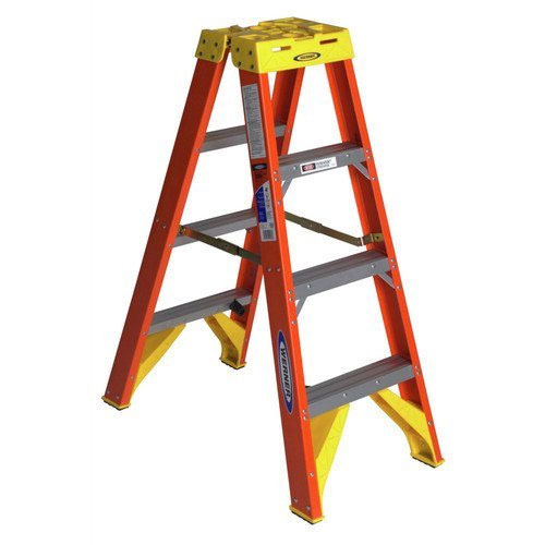 Werner (T6204) Twin Step Ladder