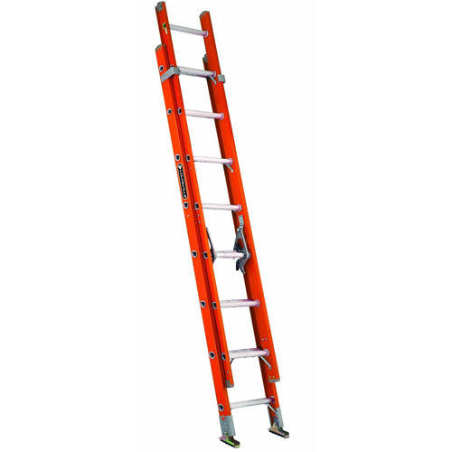 Louisville Ladder FE3216 Fiberglass Extension Ladder