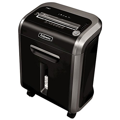 Fellows Power Shred 79CI 100%16 Sheet Cross Cut Heavy Duty Paper Shredder