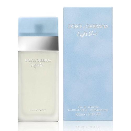 Dolce and Gabanna Light Blue for Women Eau De Toilette Spray 3.3 Ounces by Dolce and Gabbana