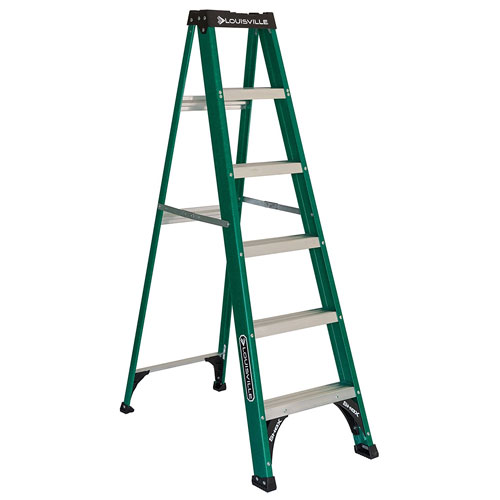 Louisville LadderFS$006 225-pound 6- Foot Fiberglass Step Ladder