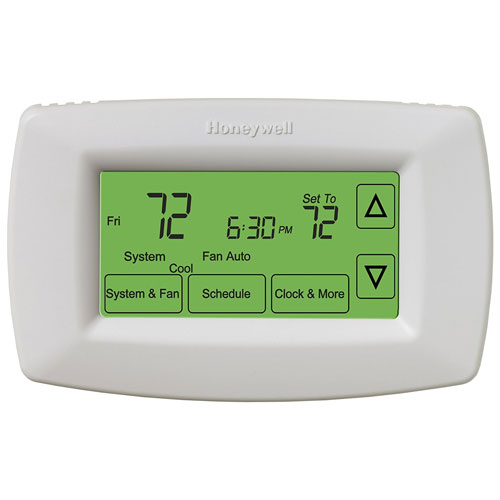 Honeywell RTH7600D Touch Screen 7-day Programmable Thermostat