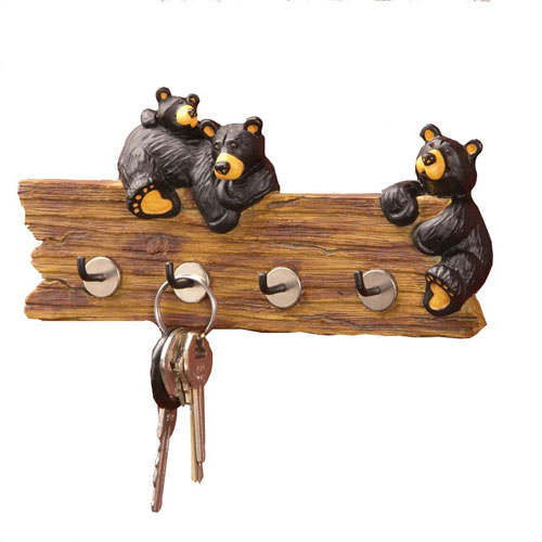 Big Sky Carvers Bear Wall Mount Key Holder