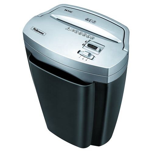 Fellowes Power Shred W11C 11-sheet Cross-cut Paper and Credit Card Shredder