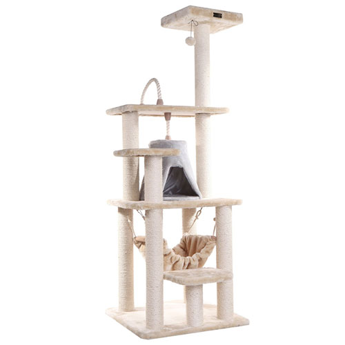 Market Cat Tree Furniture Condo Height 60 Inches To 70 Inch