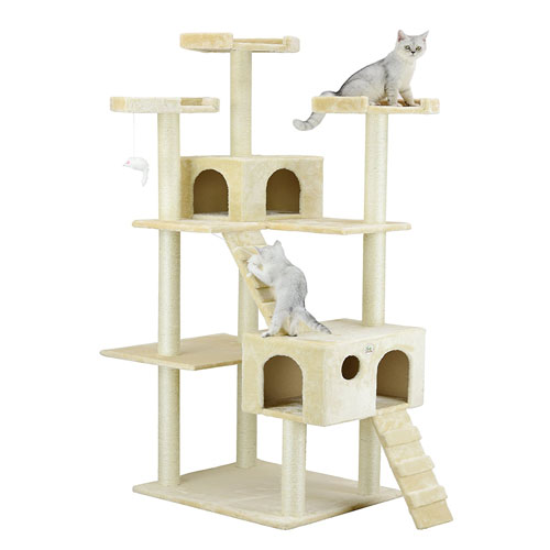 Go Pet Club Cat Tree 72 Inch