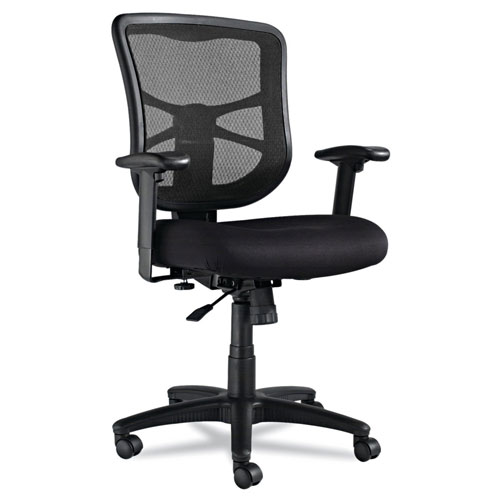 Alera Elusion Series Mesh Mid-Back Swivel/Tilt Chair