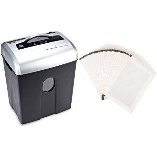 Amazon Basics 12 Sheet Cross Cut Paper, CD and Credit Card Shredder