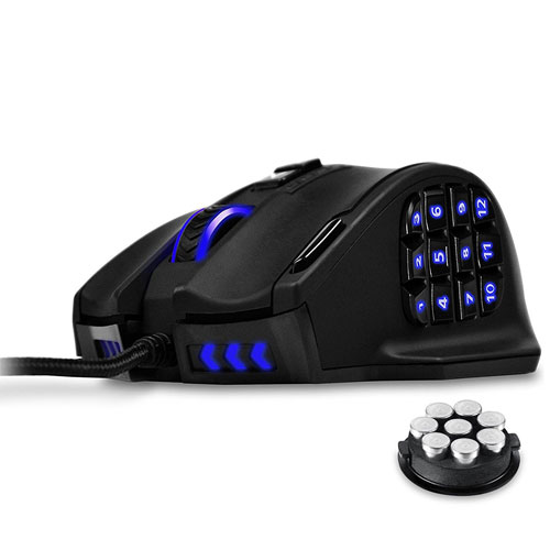 Utechsmart Venus High Precision Laser MMO Gaming Mouse