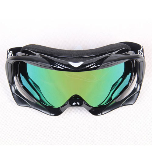 HI Rudolph Black Adult Moto Cross Motorcycle ATV Dirt Bike Off Road Goggles