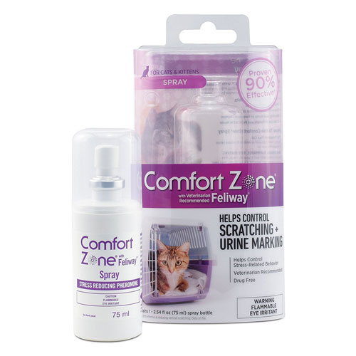 Comfort Zone Feliway Spray for Cat Calming