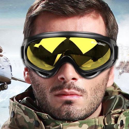 Wolf Bike Ski Goggles