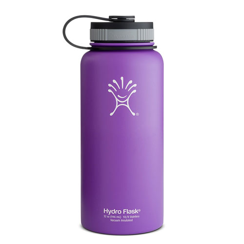 Hydro Flask Insulated Wide Mouth Stainless Steel Water Bottle