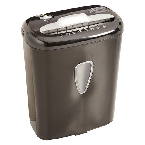 Amazon Basics 6 Sheet High Security Micro-cut Paper and Credit Card Shredder