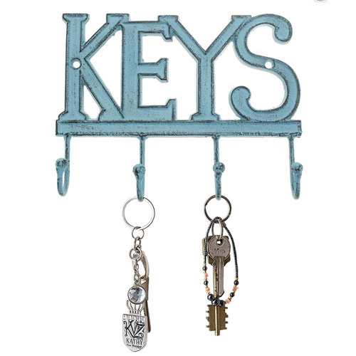 Wall Mounted Western Key Holder