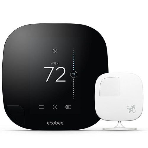Ecobee3 Thermostats With Sensor, Wi-Fi, 2nd Generation