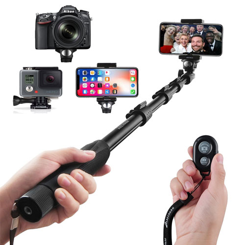Arespark Bluetooth Selfie Stick